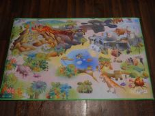 BARGAIN PRICES KIDS DINO PLAYMAT NON SLIP BACKING 100% POLYESTER 75X112CM CHEAP